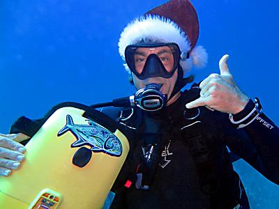 Maui Scuba Diving on Xmas DAy!