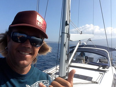 Blaze Anderson Sailing with Hawaii Yacht Charters