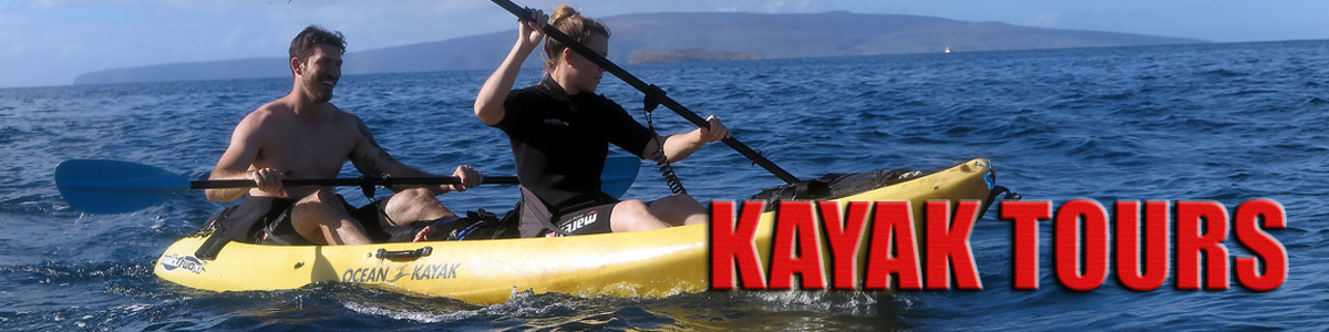 Paddle a Kayak to a Remote Maui Reef and Snorkel!