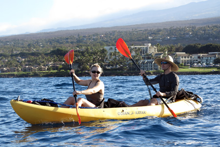 Maui kayak and paddleboard Tours