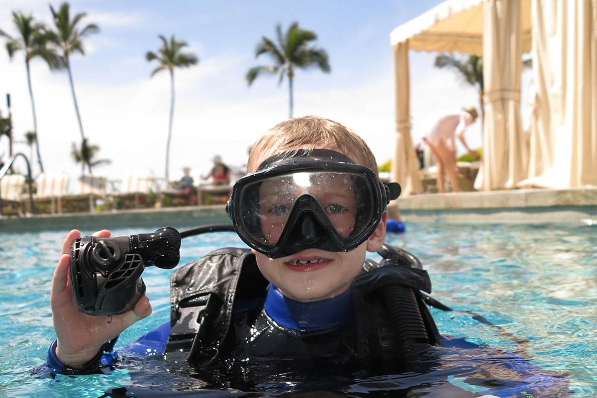 beginner scuba diving lessons